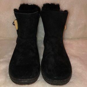 UGG Garnet black booties